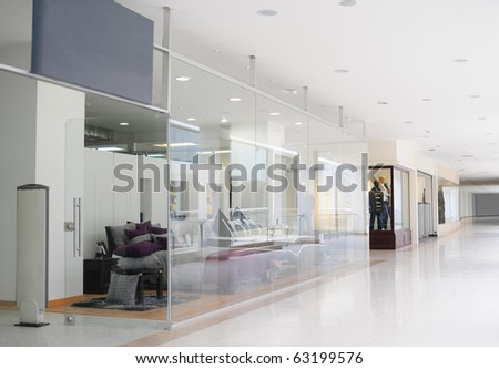 Mall. - stock photo