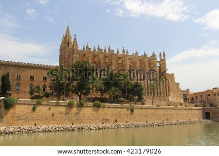 Mallorca Cathedral. Spain.