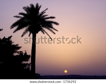 Malta Sunset - stock photo