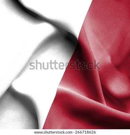 Malta waving flag - stock photo