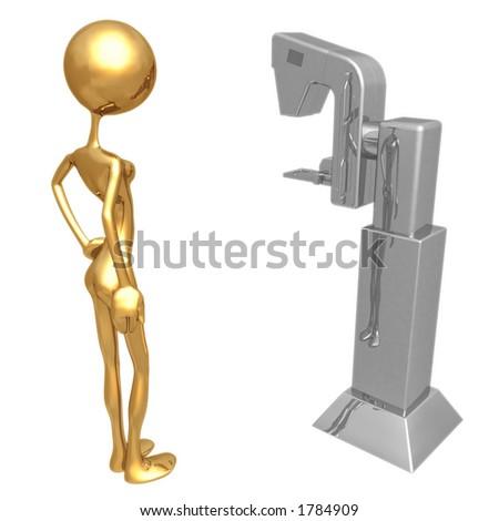 Mammography - stock photo