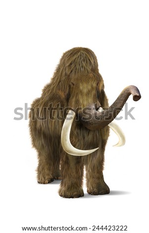 mammoth - stock photo