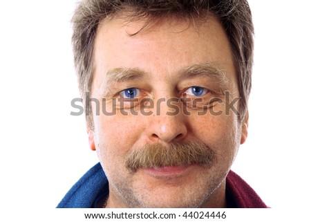 Man 50 - stock photo