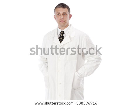 Man Doctor.Profession.Medicine concept - stock photo