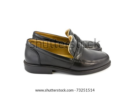 Man footwear isolated on a white background