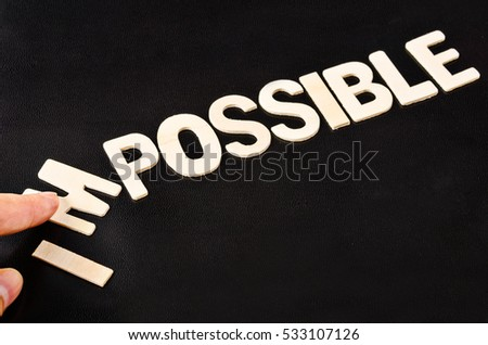 possible words with given letters possibility stock images royalty free images amp vectors 437