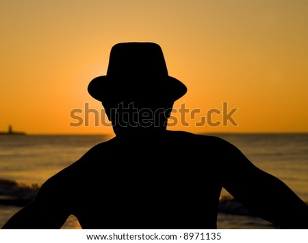 Man in Hat