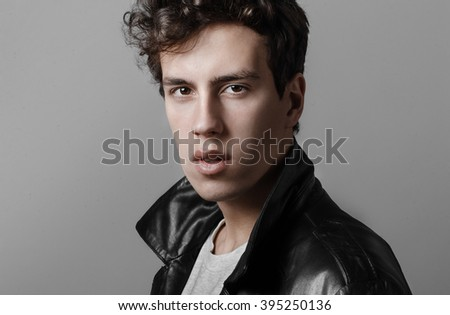 Man in Leather Jacket 2