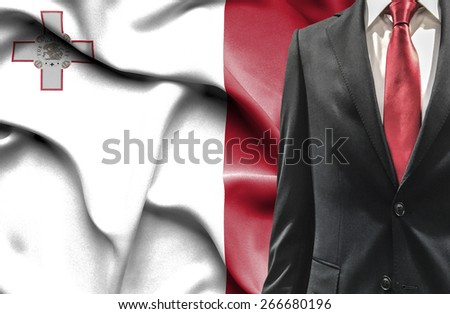 Man in suit from Malta