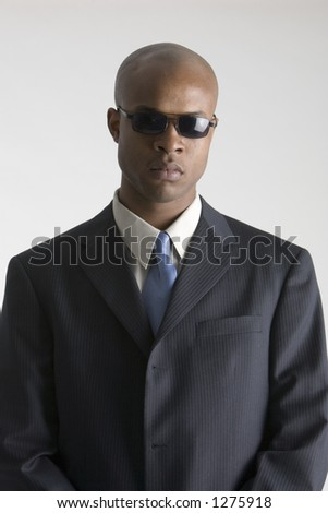 Man in sun glasses