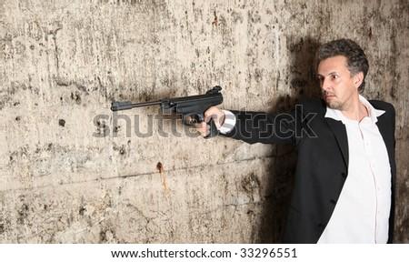 Man killer - stock photo