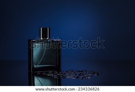 man parfume - stock photo