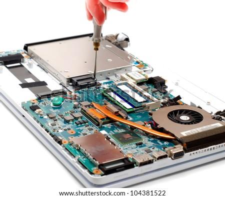 Computer Repair Images RoyaltyFree Images Vectors – Laptop Repair Technician