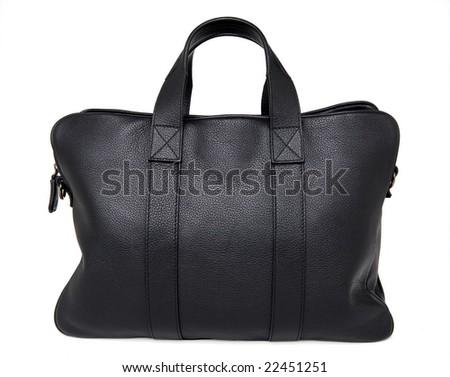 man's handbag - stock photo