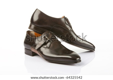 Man's shoes - stock photo