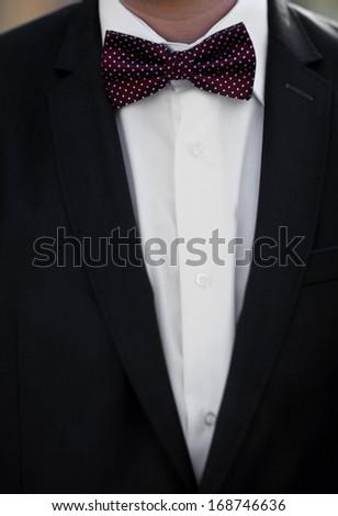 Man's suit - stock photo