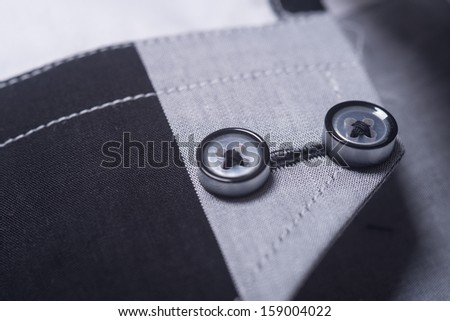 man shirts. man shirts closeup - stock photo
