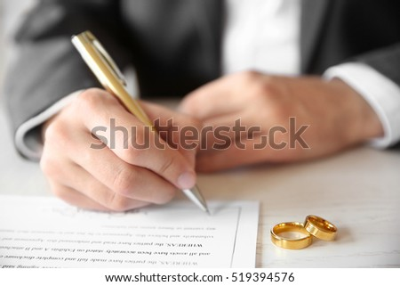 Marriage Contract Stock Images, Royalty-Free Images & Vectors