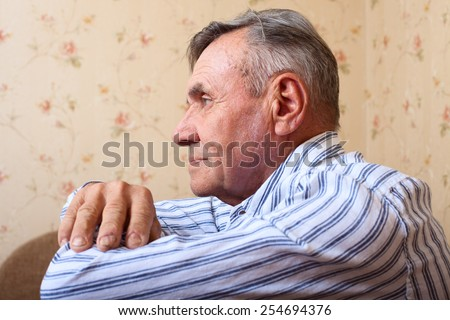 Man smiling - stock photo