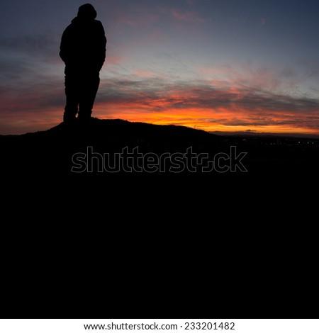 sunset black single men Men's big and tall  big and tall men's hoodies big and tall men's shoes size 13 - 15 footwear   black sunset unisex single button snow boots (model 051.