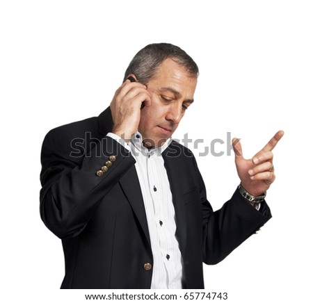 Man talking with phone