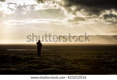 Man thinking. - stock photo