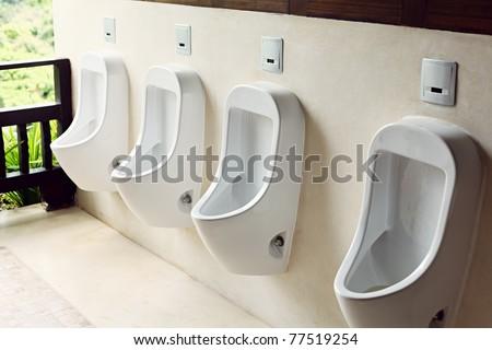 Man Toilet - stock photo