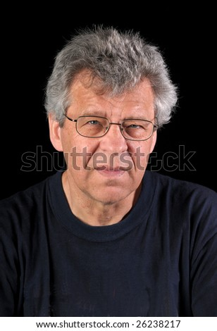 Man with eye glasses - stock photo