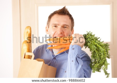 Unhealthy Fat Man Sitting On Couch Stock Photo 5787520 ...