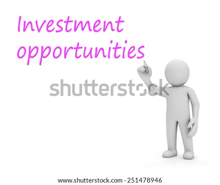 man write investment oportunities