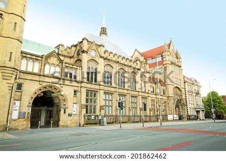 Manchester Museum, England, UK - stock photo