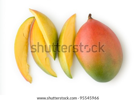 Mango as a Healthy and Nutritious Fruit - stock photo