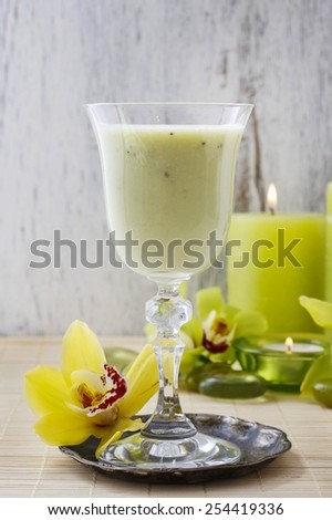 Mango cold drink - stock photo
