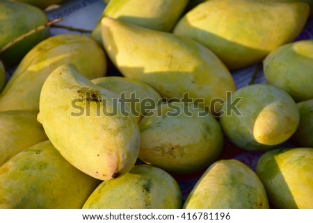 Mango is a fruit with a taste of Thailand.