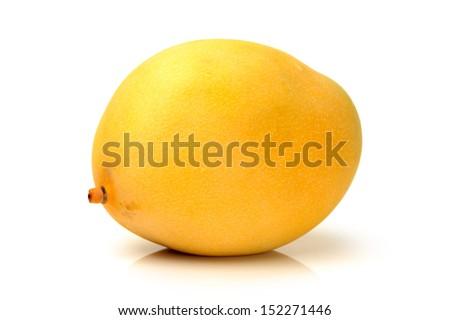 mango on white background  - stock photo