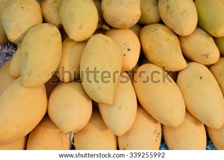 mango Thailand - stock photo
