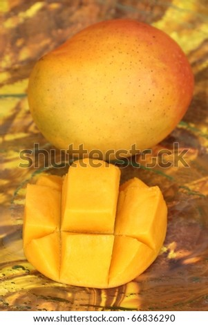 mango tropical fruit with background vivid image