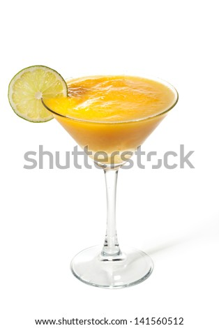 Mango with Apple Frozen Cocktail