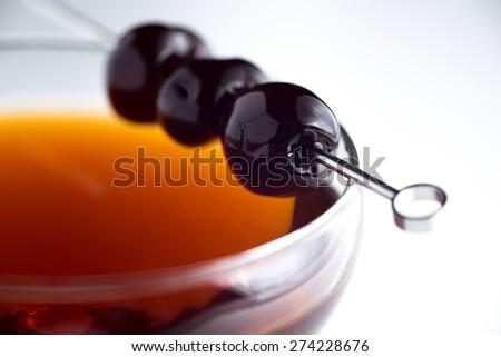 Manhattan Cocktail - stock photo