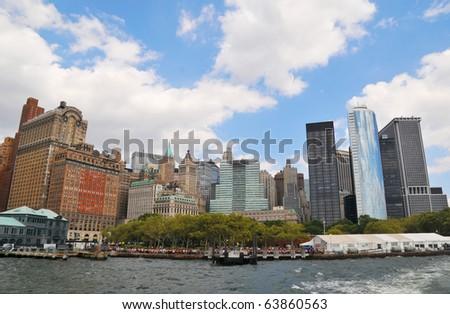 Manhattan New York August 2010 - stock photo