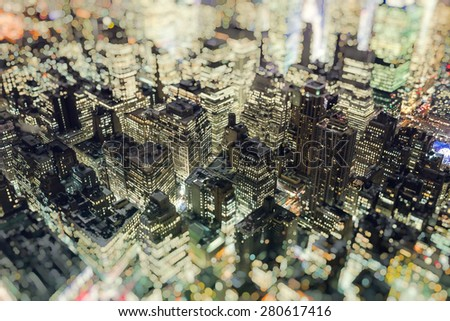 Manhattan,New York City - stock photo
