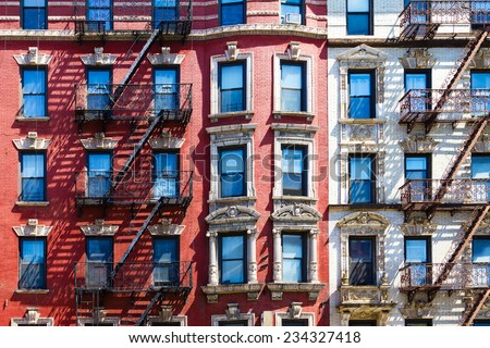 Manhattan New York City Background Texture Stock Photo