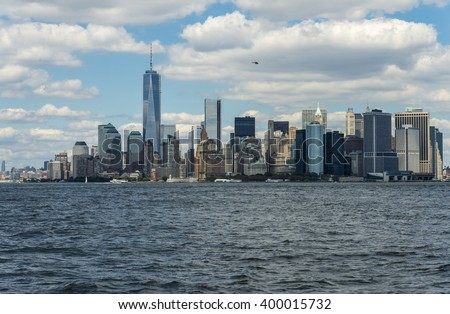 Manhattan New York City Skyline