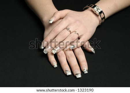 manicured hands