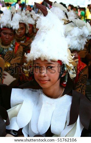 MANILA, PHILIPPINES - APRIL 24:Aliwan Festival, a yearly parade of cultural festivals that could be found in the country, this year's main event was held on April 24, 2010 Manila, Philippines. - stock photo