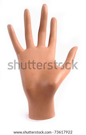 Mannequin hand - stock photo