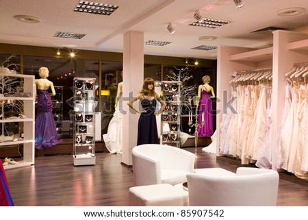 Wedding shop Stock Photos, Wedding shop Stock Photography, Wedding