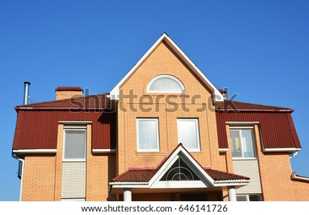 Hip Roof Stock Images RoyaltyFree Images Vectors Shutterstock