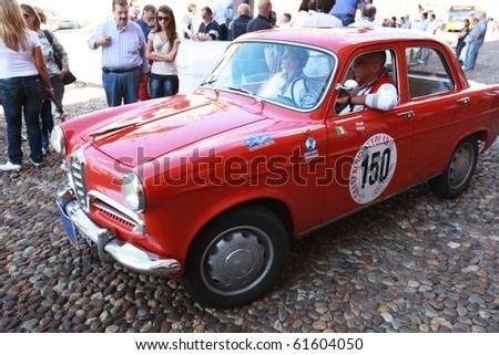 Mantua Italy September 19 1955 Alfa Stock Photo Royalty Free
