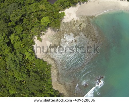 Manuel Antonio National park, Costa Rica - stock photo